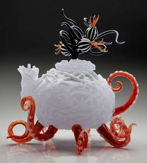 Jennifer-Umphress_glass Octopus Teapot