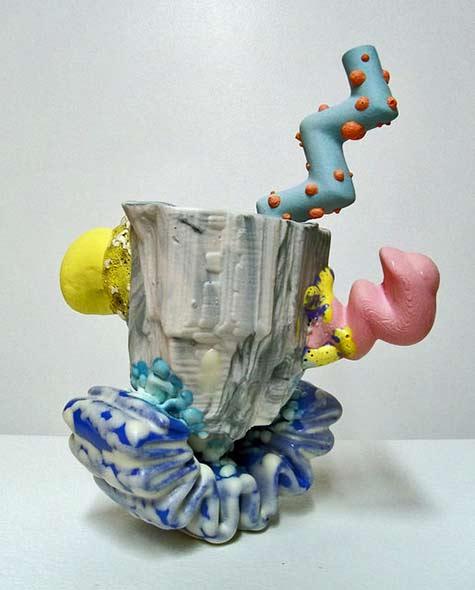 Joey Watson zany ceramic sculpture