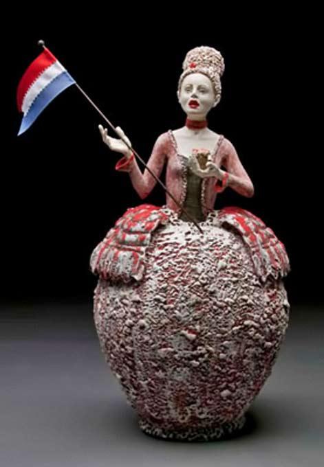 Kirsten Stingle_Steeped in Revolution ceramic teapot