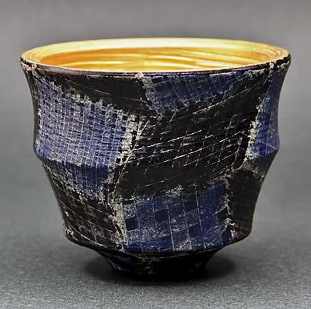 Maeda Maeda-ceramic-cup inner gold glaze