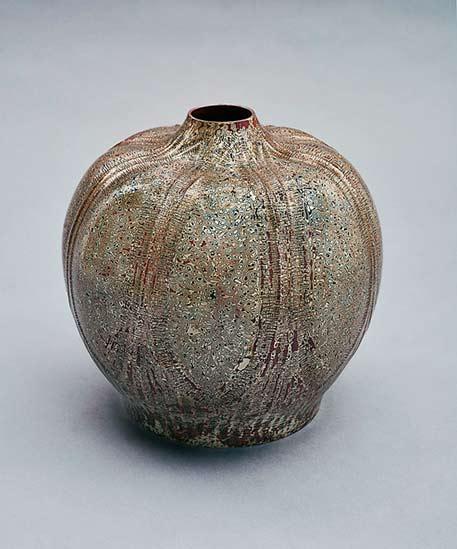 Onishi Gallery_Tamagawa_Norio Flower Vase_No-425-2015-SOFA-Chicago