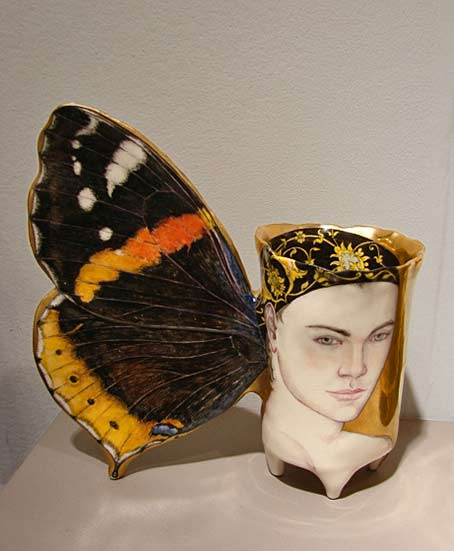 Irina-Zaytceva Red Admiral Butterfly Cup Jane Sauer Gallery