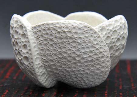 Sato Tsutsumi Sato Satoshi tea cup fine detail