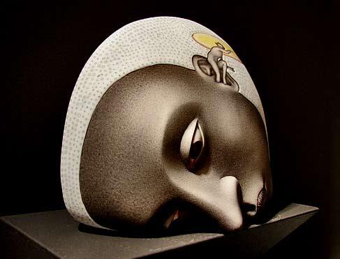 Sergei-Isupov-ceramic-head-sculpture