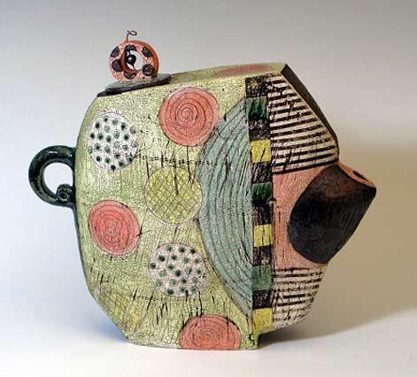 Sheryl-Zacharia_GreenTea ceramic teapot