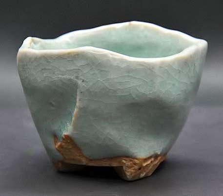 Shuhei Fujioka-green celadon cup