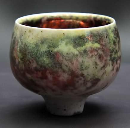 Wadayama-Mao,-Osaka-footed-tea-bowl