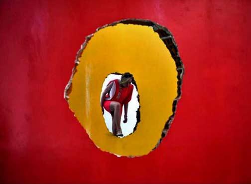 -All-the-World's-FuturesOccupationsDiscoveries,installation-by-Brazilian-artist-Antonio-ManuGabriel-BouysAFPGetty-Images)