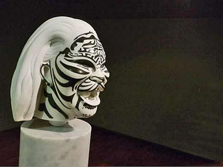55th-venice-biennale-2013-Marc-Quinn sculptural head