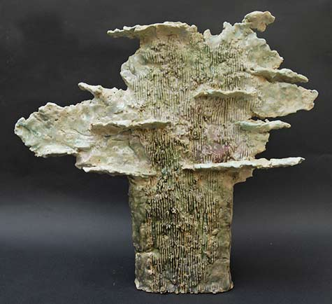 'Big-Tree-Cloud' ceramic sculpture -Marianne Abergel