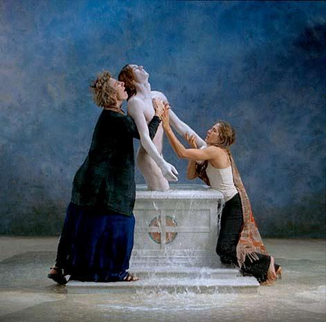 Bill-Viola-Emergence -- Renaissance--Carpaccio