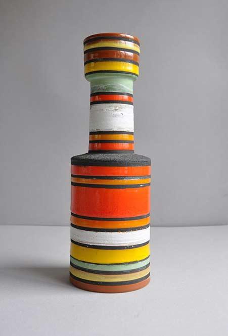 Bitossi vase, 'Rocchetto' line by Ettore Sottsass