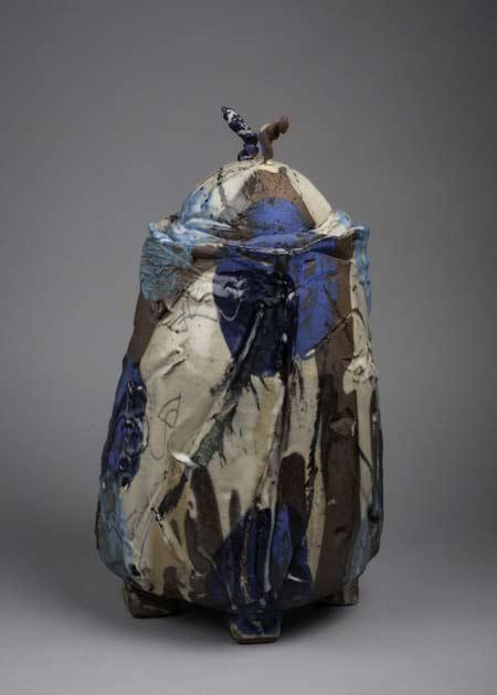 Françoise-Nugier ceramic lidded jar