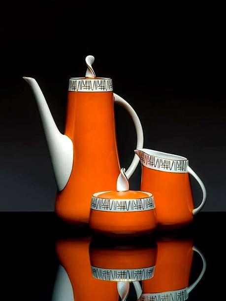 Coffee service 'Prometheus'-(mold design Danuta Duszniak-1959)