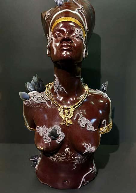 Damien Hirst-in Venice Save fantasy--Aten, Punta-della Dogana