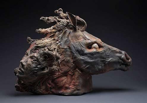 Dominique-Bajard-ceramic sculpture France