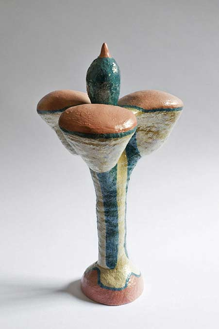 Elvira-Keller-Altri-Mondi ceramic sculpture