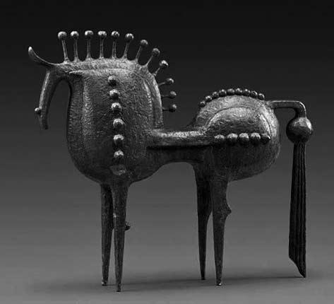 Exercice-de-Style-Han-Meilin bronze horse sculpture