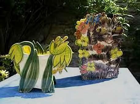 Françoise-Chaussy-ceramic art vases