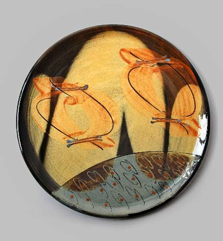 Francoise-Dufayard-Ceramic-plate