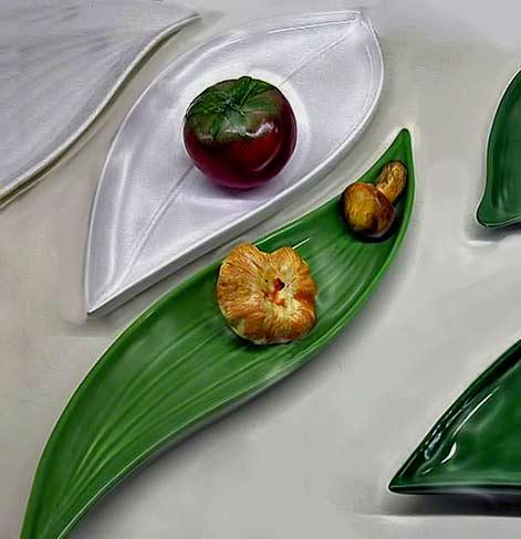 Guatemalan ceramic platter