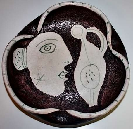 vintage ashtray Guido-Gambone-