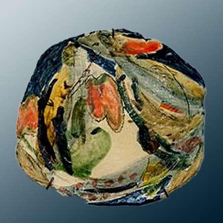 Héloïse-Bariol-ceramic art -plate