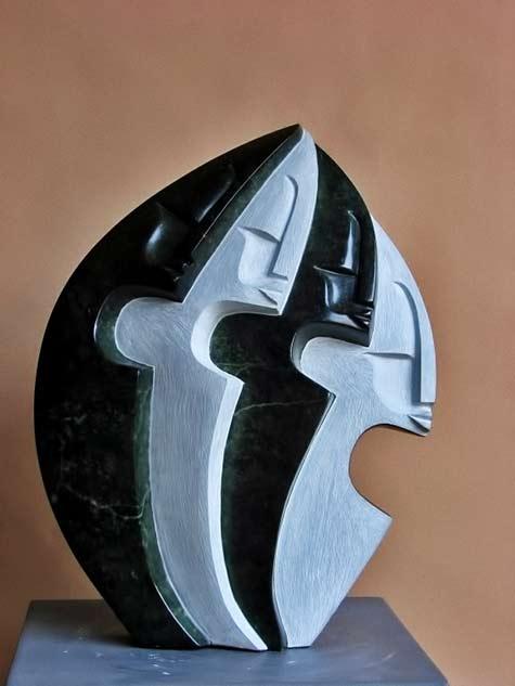 Ishmael-Chitiyo Reflection 39cm height