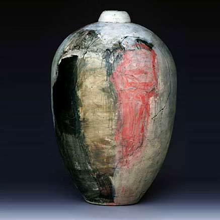 Jean-Francois-Thierion--ovoid-ceramic-vessel