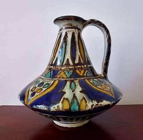 Vintage Jug-Vase-Nabeul-Tunisia