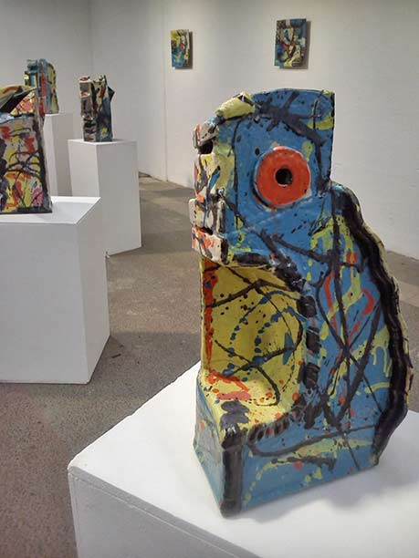 Michel Lanos abstract-ceramics