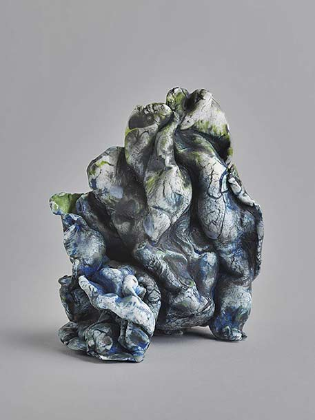 Marie-Sophie-André ceramic abstract sculpture