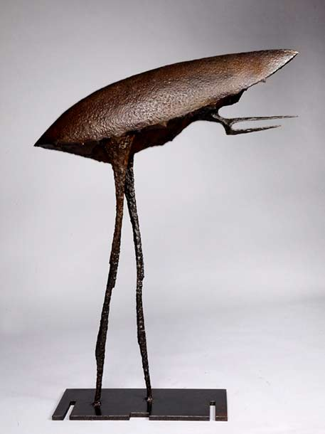 Michel-Anase bronze abstract insect sculpture