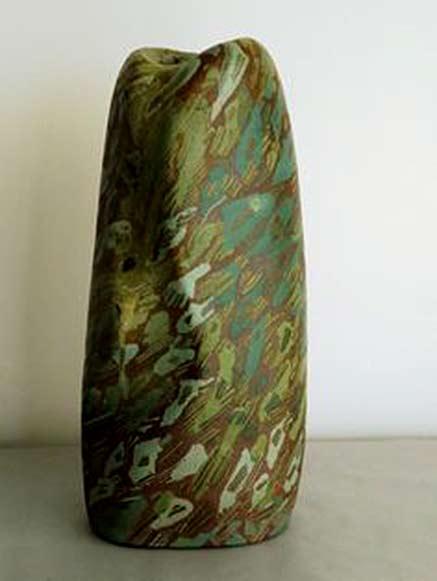 Mireille Moser green vase