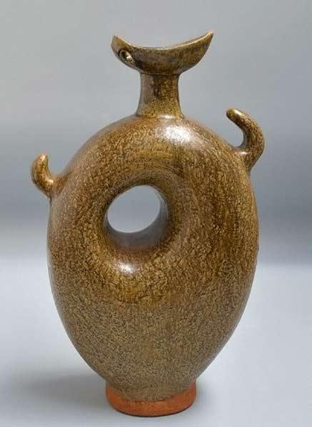 Sakuhin A, Vintage Sculpture by Takiguchi Kazen