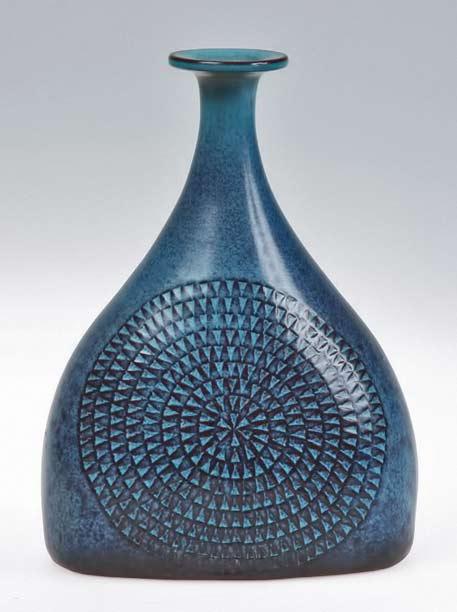 Stig-Lindberg incised vase