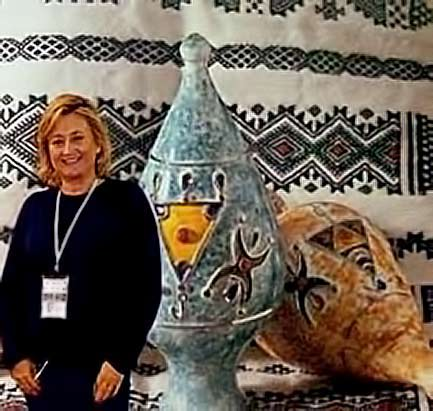 Algerian pottery - The-National-Excellence-Centre-for-Ceramics-in-Tipaza,-Algeria