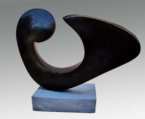 Tonderai-Marezva-Abstract---opal-stone shona sculpture
