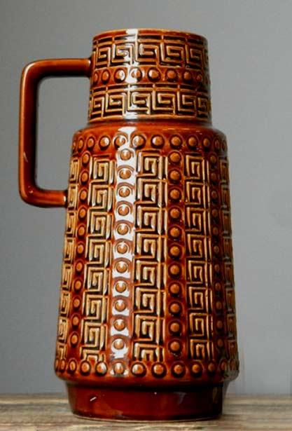 Vintage AK Alfred Klein Ceramic Vase German Pottery