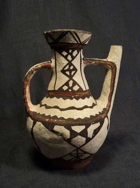 gargoulette poterie kabyle berbère ideqqi algérie kabylie algerian pottery
