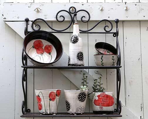 ceramics on display-Myriam-Belhaj