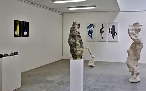 lLaure Giraudaud-biomorphic-sculptures