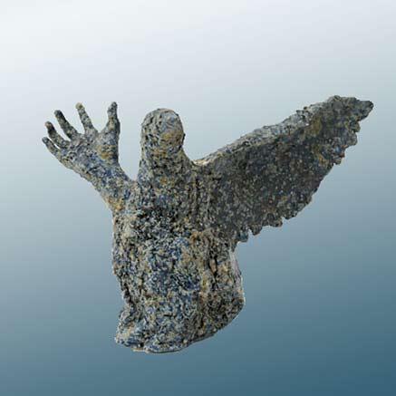 Marianne-Abergel ceramic sculpture