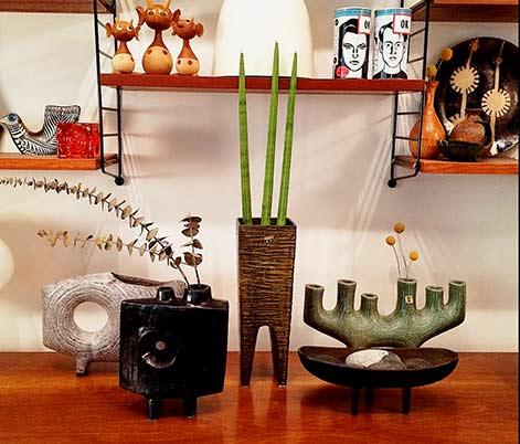 vintage-Ikebana-planters collection