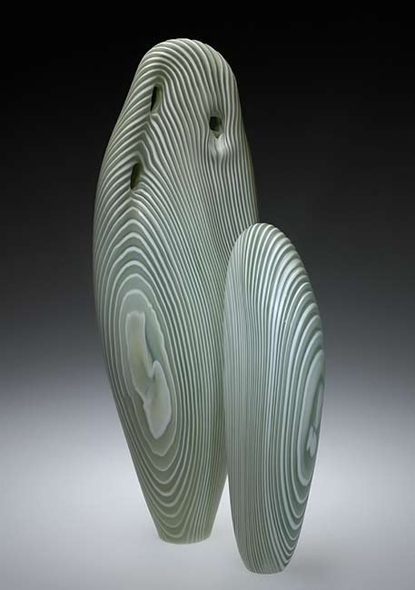 Clay and glass artists ceramics and pottery arts and Silkwood glass