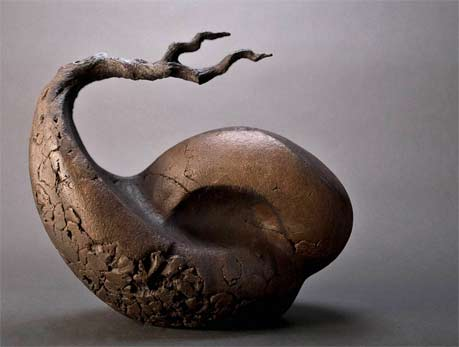 Beverly-Morrison Morphic series abstract ceramic sculpture