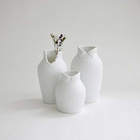White Dress-up-vases-by-Nendo