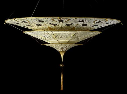 Fortuny--Scheherazade-Fortuny®---Seta silk lamp