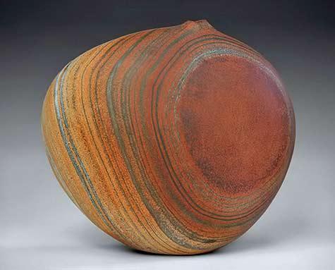 Gerald Arrington-organic vase