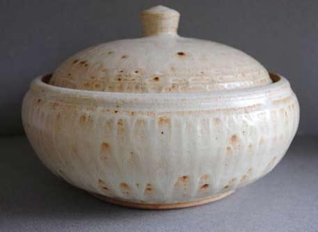 Handmade-Clay-lidded Casserole-by-JohnMcCoyPottery-on-Etsy,